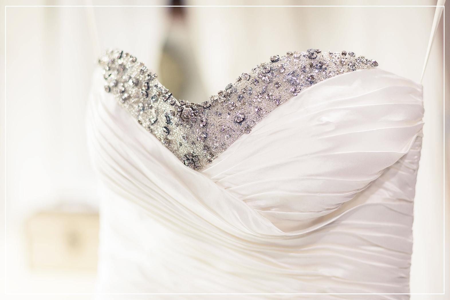 Chloe Browns bespoke bridal dress
