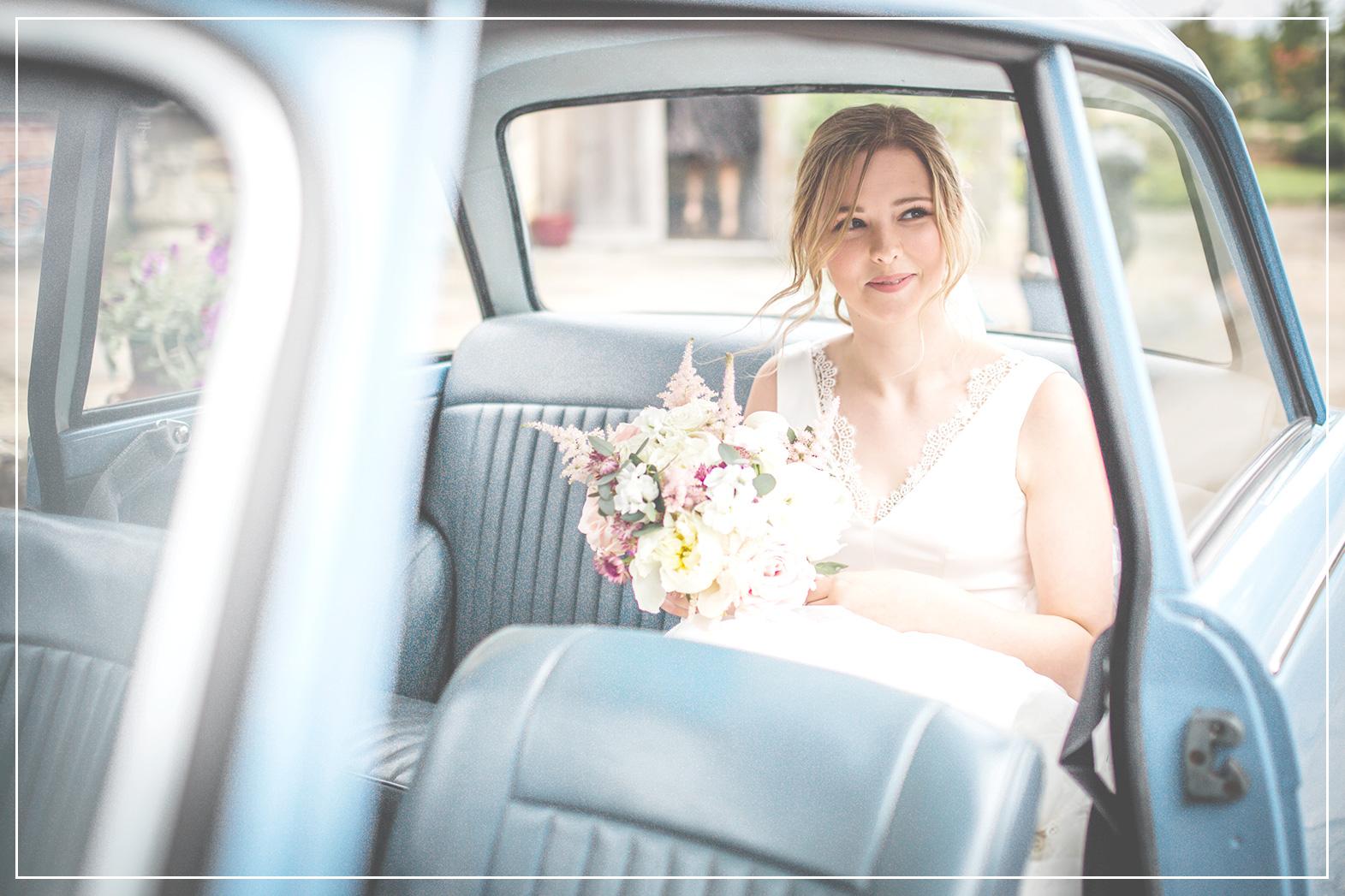 Ellie Pendry's bespoke bridal dress