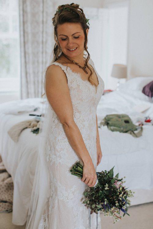 Kirsty Millington bride